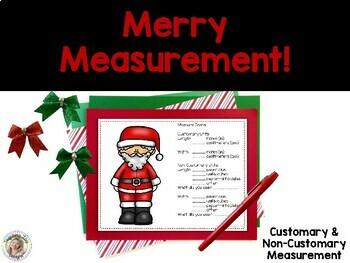 Merry Measurement!  A Common Core Math Center