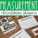Christmas themed Non-standard measurement center activity