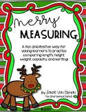 Merry Christmas Math Measurement