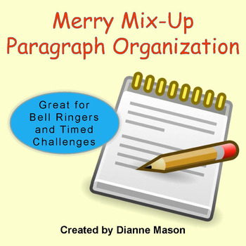 Merry Mix-Up Paragraph Organization