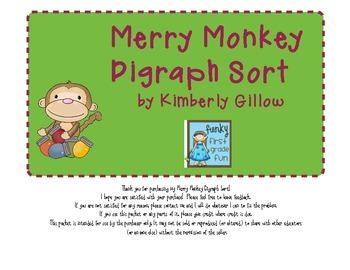 Merry Monkey Digraph Sort