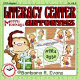 ANTONYMS LITERACY CENTER Christmas Antonyms Activity Grammar Activity Vocabulary