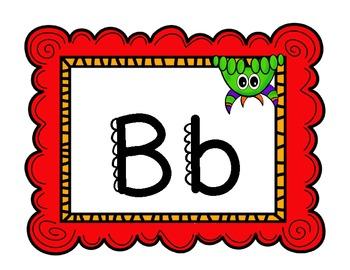 Merry Monster Alphabet Cards