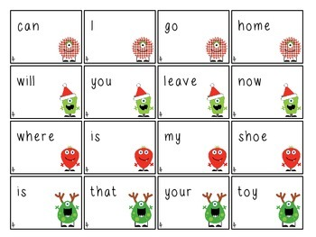 Merry Monsters Interrogative Reversals and Syntax Skills