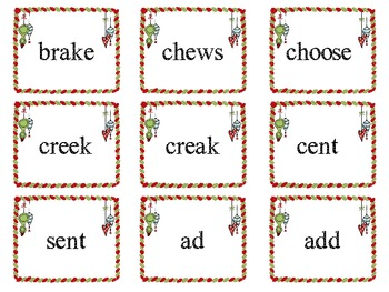 Merry Multiple Meanings Common Core Homophone Practice