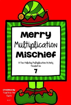 Merry Multiplication Mischief FREEBIE!