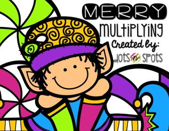 Merry Multiplying (2-digit by 2-digit Multiplying)