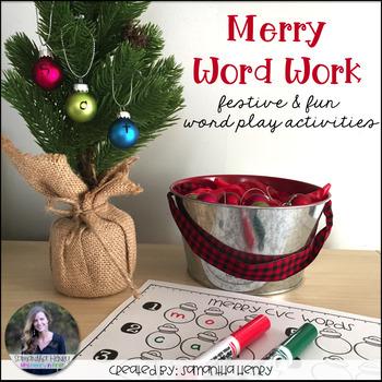 Merry Word Work