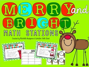 Merry and Bright Math Stations