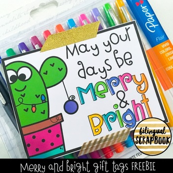 Merry and Bright (Gift Tags) FREEBIE