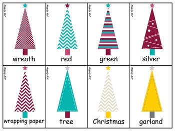 Merry /r/ Articulation - Christmas Words and Phrases