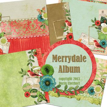 Merrydale Printable Digital Album