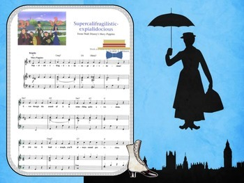 Mery Poppins. Songs from the movie .