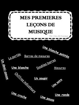 Mes Premières Leçons de Musique