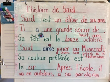Mes amis- FRENCH-Student booklet-Grade 1 & 2