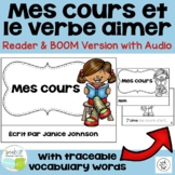 Mes cours French Verb Aimer School Classes Reader & Build-A-Book