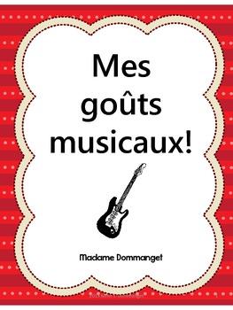 Mes goûts musicaux!