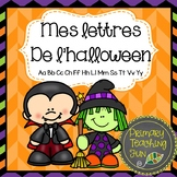 Mes lettres de l'halloween: a French printing and phonics booklet