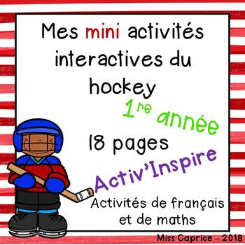 Mes mini activités interactives du hockey - 1re année