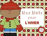 Mes mots pour l'hiver (My Words for Winter) - French Vocab