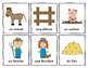 Mes mots pour la ferme (My Words for the Farm) - French Vocabulary Cards