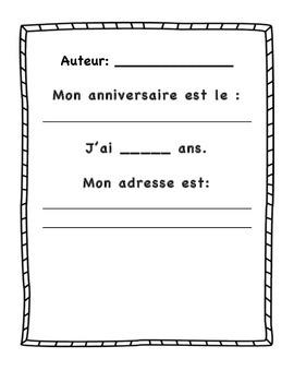 End of year memory book- Mes souvenirs en première année ( ou autre)