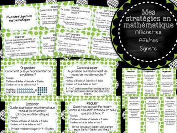 Mes stratégies en mathématique