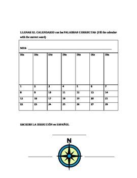 Meses, Calendario, Mundo / Months, Calendar, World