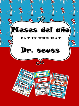 Meses del año (Dr. Seuss Cat In the Hat)