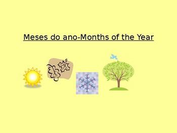 Meses do ano e estacoes
