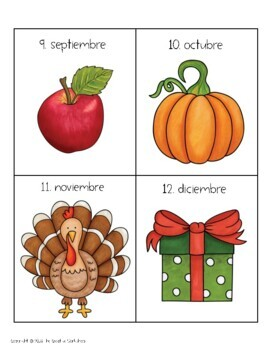 Meses y Estaciones! Spanish months & seasons (writing & drawing)