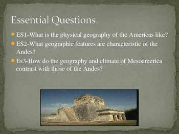 Introduction to Meso-America Vocabulary