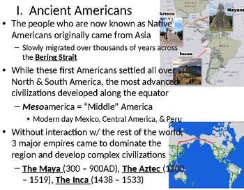 Meso-American Civilizations: Maya, Aztec, & Inca