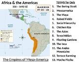 Meso-American Civilizations LESSON BUBDLE:  Maya, Aztec, & Inca