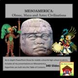 Mesoamerican Civilizations Power-Point Presentation Bundle