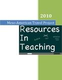 MesoAmerican Travel Poster