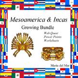 Mesoamerica  plus Incas Unit   (bundle in Spanish)