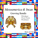 Mesoamerica  plus Incas Unit   (bundle in Spanish)