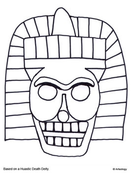 Mesoamerican Art Coloring Pages