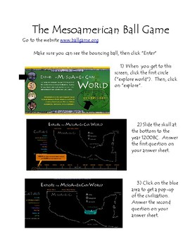 Mesoamerican Ball Game Exploration