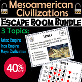 Mesoamerican Civilizations Escape Room Social Studies: Aztec, Mayan, Inca Empire