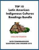 Indigenous Cultures of Latin America Bundle: TOP 10 Readings @40% off! (ENGLISH)