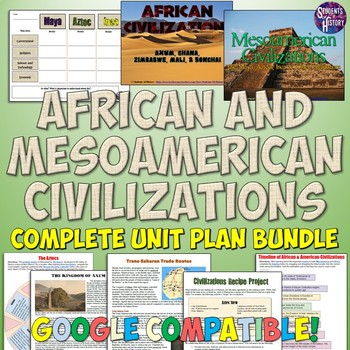 Mesoamerican and African Civilizations Unit Bundle