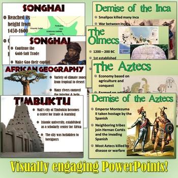 Mesoamerican and African Civilizations Unit Set