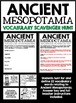 Ancient Mesopotamia Unit Vocabulary Scavenger Hunt Activity