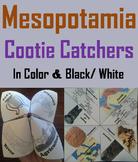 Ancient Mesopotamia Activity (Fertile Crescent Cootie Catcher Review Game)