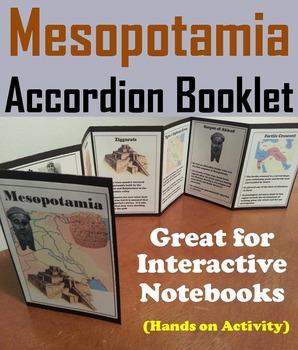 Ancient Mesopotamia Activity (The Fertile Crescent Interactive Notebook)