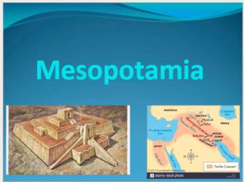 Mesopotamia (76 Slides!)