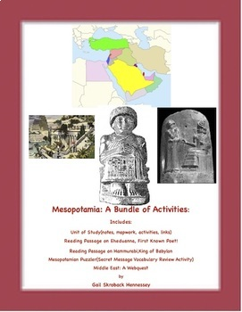 Ancient Mesopotamia, A Bundle of Resources!