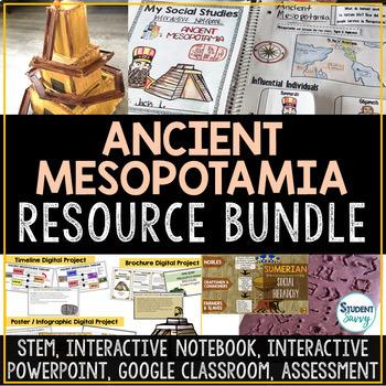 Ancient Mesopotamia Activities Resource Bundle